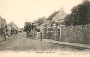 AK / Ansichtskarte Chaumes en Brie Rue de Paris Chaumes en Brie