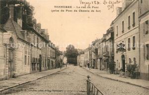 AK / Ansichtskarte Tonnerre Rue du Pont Tonnerre