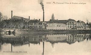 AK / Ansichtskarte Sens_Yonne Le Ponceau et l Usine de Produits metalliques Sens_Yonne