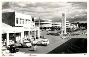 AK / Ansichtskarte Kisumu Innenstadt Platz Kisumu