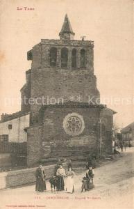AK / Ansichtskarte Giroussens Eglise Saint Salvi Giroussens