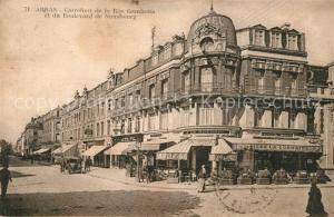 AK / Ansichtskarte Arras_Pas de Calais Carrefour de la Rue Gambetta Boulevard de Strasbourg Arras_Pas de Calais