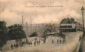 AK / Ansichtskarte Le_Creusot_Saone et Loire Rues de Chalon des Ecoles et du Guide Le_Creusot_Saone et Loire