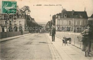 AK / Ansichtskarte Joigny_Yonne Avenue Gambetta Joigny Yonne