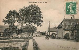 AK / Ansichtskarte Mailly le Camp Rue du Jard Mailly le Camp