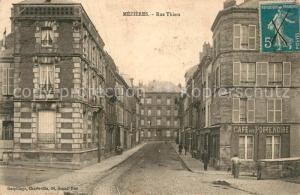 AK / Ansichtskarte Mezieres Charleville Rue Thiers Mezieres Charleville
