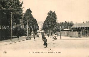 AK / Ansichtskarte Charleville Mezieres Avenue de la Gare Charleville Mezieres