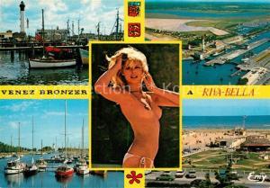 AK / Ansichtskarte Riva Bella Le Port de pecheEcluse et le phare Le port de plaisance Le golf miniature et la plage Riva Bella