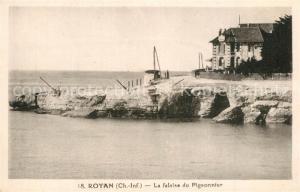 AK / Ansichtskarte Royan_Charente Maritime La falaise du Pigeonnier Royan Charente Maritime