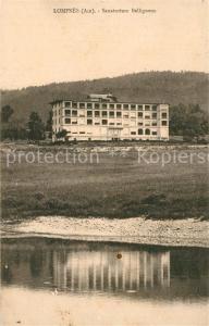 AK / Ansichtskarte Lompnas Sanatorium Belligneux Lompnas