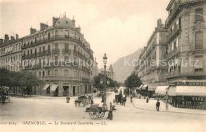 AK / Ansichtskarte Grenoble Boulevard Gambetta Grenoble