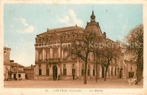 AK / Ansichtskarte Coutras Mairie Coutras