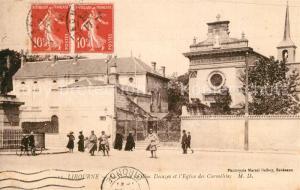 AK / Ansichtskarte Libourne Eglise des Carmelites  Libourne