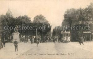 AK / Ansichtskarte Tours_Indre et Loire Avenue de Grammont Tours Indre et Loire