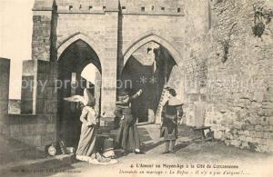 AK / Ansichtskarte Carcassonne Le Refus Demande en mariage Carcassonne