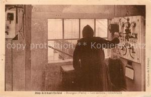 AK / Ansichtskarte Dourgne Abbaye Saint Benoit en Calcat ateliers electricite Dourgne