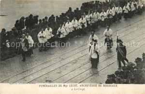 AK / Ansichtskarte Bordeaux Funerailles de Monsignore Lecot Archeveque Bordeaux