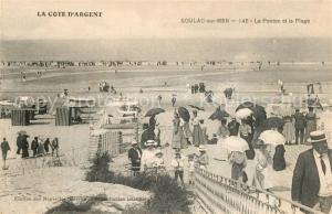 AK / Ansichtskarte Soulac sur Mer Ponton Plage Soulac sur Mer