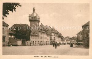 AK / Ansichtskarte Selestat_Bas_Rhin_Elsass Stadtpanorama Selestat_Bas_Rhin_Elsass