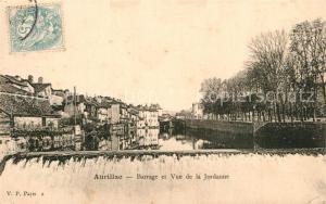 AK / Ansichtskarte Aurillac Barrage Vue de la Jordanne  Aurillac