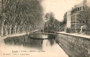 AK / Ansichtskarte Brive_Correze Canal  Brive Correze