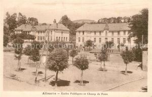 AK / Ansichtskarte Allanche Ecoles Publiques Champ de Foire Allanche