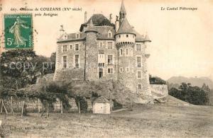 AK / Ansichtskarte Antignac_Cantal Chateau de Couzans  Antignac Cantal