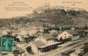 AK / Ansichtskarte Saint Flour_Cantal Quartiers du Faubourg Gare Saint Flour Cantal