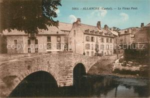 AK / Ansichtskarte Allanche Vieux Pont  Allanche