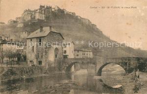 AK / Ansichtskarte Saint Flour_Cantal Vieux Pont  Saint Flour Cantal