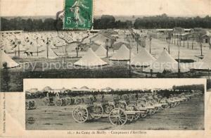 AK / Ansichtskarte Camp_de_Mailly Campement d Artillerie Camp_de_Mailly