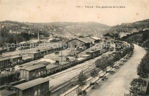 AK / Ansichtskarte Tulle_Correze Vue generale de la gare Tulle_Correze