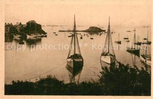 AK / Ansichtskarte Loguivy de la Mer Entree du Port Loguivy de la Mer