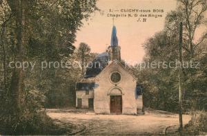 AK / Ansichtskarte Clichy sous Bois Chapelle ND des Anges Clichy sous Bois
