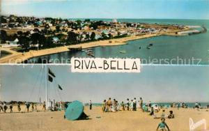 AK / Ansichtskarte Riva Bella Le Camping et sur le Port Le Semaphore et la Plage Riva Bella
