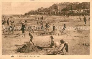AK / Ansichtskarte Langrune sur Mer Sur la Plage Langrune sur Mer