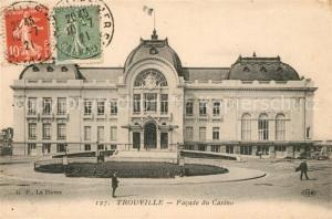 AK / Ansichtskarte Trouville Deauville Facade du Casino Trouville Deauville