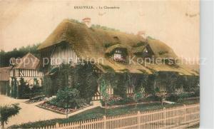AK / Ansichtskarte Deauville La Chaumiere Deauville