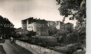 AK / Ansichtskarte Rieux Minervois Le Chateau et le Pont Rieux Minervois
