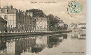 AK / Ansichtskarte Troyes_Aube Groupe Scolaire des Jacobins Troyes Aube