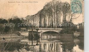 AK / Ansichtskarte Troyes_Aube Pont sur la Seine a Fouchy Troyes Aube