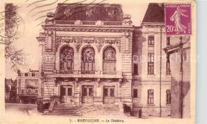 AK / Ansichtskarte Montlucon Le Theatre Montlucon
