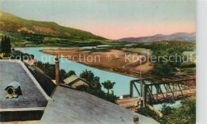 AK / Ansichtskarte Savines le Lac Vallee de la Durance Vue d Eygoires Savines le Lac