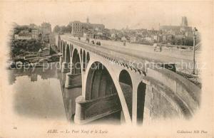 AK / Ansichtskarte Albi_Tarn Le Pont Neuf et le Lycee Albi_Tarn