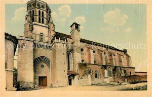 AK / Ansichtskarte Lavaur_Tarn La Cathedrale Saint Alain avec son Jacquemart Lavaur Tarn