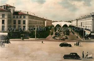AK / Ansichtskarte Royan_Charente Maritime Avenue Aristide Briand et le marche couvert Royan Charente Maritime
