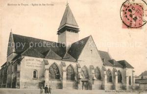 AK / Ansichtskarte Troyes_Aube Eglise de Ste Savine Troyes Aube