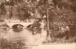 AK / Ansichtskarte Essoyes Le Pont sur l'Ouree entree Essoyes et Loches Essoyes