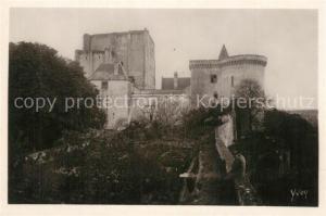 AK / Ansichtskarte Loches_Indre_et_Loire Chateau de Loches Le Donjon et la Tour Louis XI Loches_Indre_et_Loire