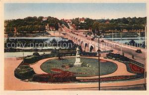 AK / Ansichtskarte Tours_Indre et Loire Vue sur le Grand Pont de Pierre Tours Indre et Loire